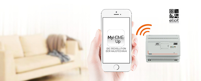MyHOME / MyHOME_Up bei Elektro Burkart GmbH in Künzell
